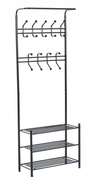 Levný kovový nábytek do předsíně
