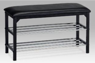 Polstrované sedátko s botníkem do přesíně