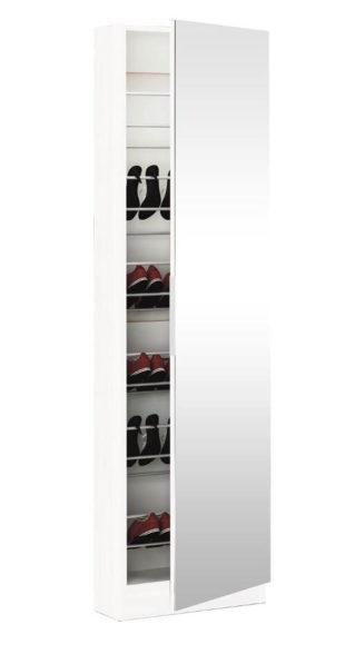 Vysoký botník se zrcadlem