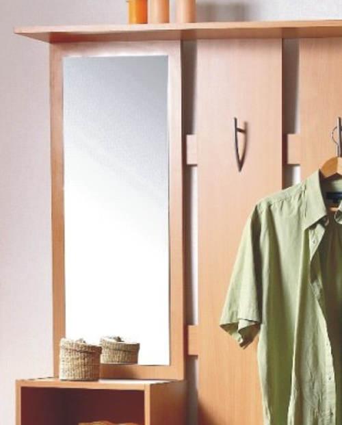 Levná předsíňová stěna se zrcadlem