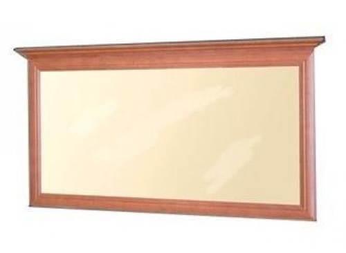 Velké elegantní zrcadlo s dřevěným rámem