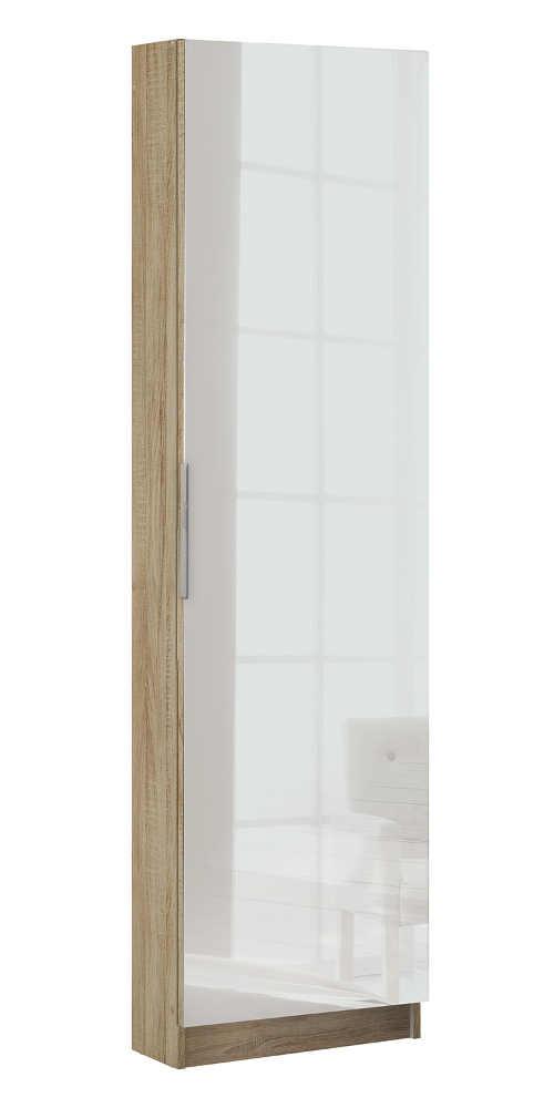 Botník se zrcadlem o výšce 180 cm