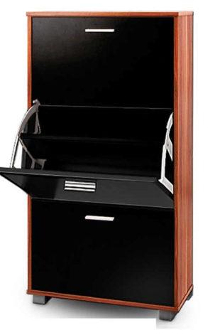 Luxusní botník se třemi výklopnými zásuvkami