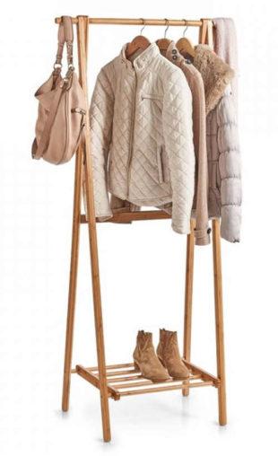 Bambusový stojan na šaty