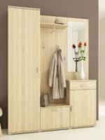 Dřevěná předsíňová stěna dub sonoma