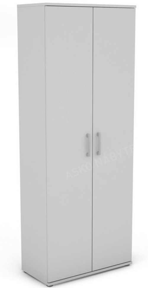 Levná bílá dvoukřídlá skříň