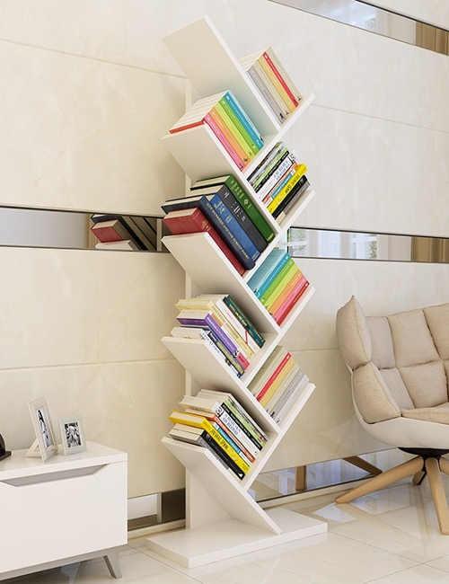 Regál na knihy do pracovny