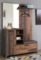 Rustikální šatna do předsíně Old Wood Vintage
