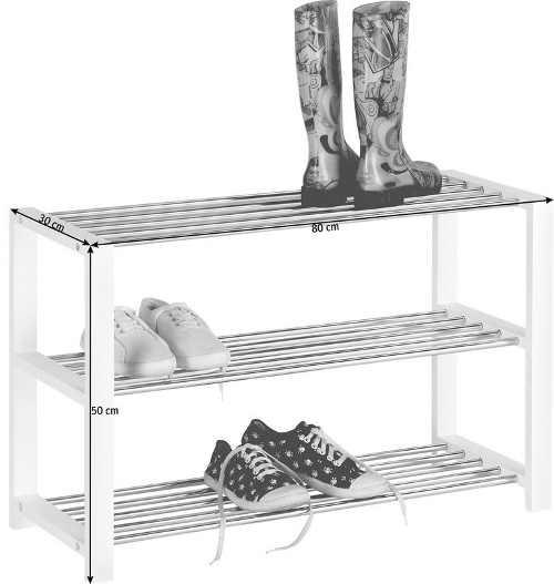 Praktický regál na boty v moderním designu