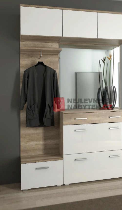 odkládací panel do vstupní haly či chodby