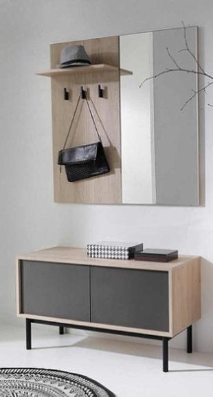 Moderní sektorová přesíňová sestava v minimalistickém designu