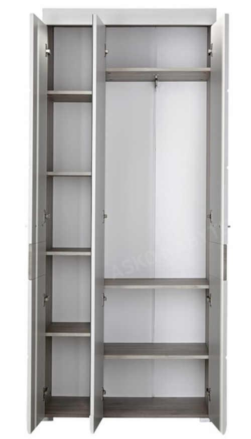 prostorná skříň do větší i malé chodby