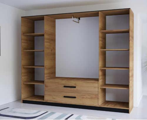 šatní skříň v působivém designu